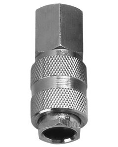 "High Flow 1/4"" x 1/4"" BSP Female Coupler"