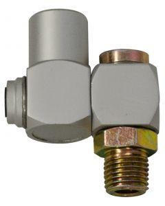 """Z-Swivel Air Connector 1/4"""" BSP"""