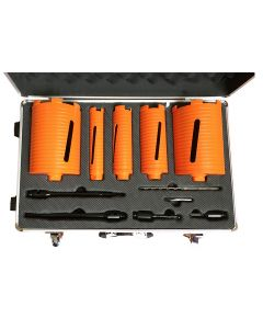 5 Piece Core Drill Kit