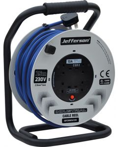 25m Industrial Cable Reel 230V