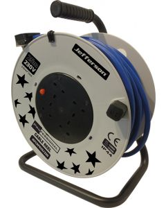25m Professional Cable Reel 230V