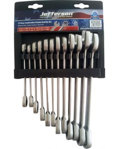 12 Piece Combination Ratchet Spanner Set