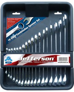 18 Piece Combination Spanner Set