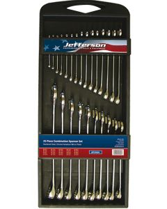 25 Piece Combination Spanner Set