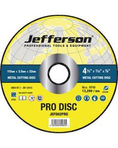 "4.5"" Metal Cutting Abrasive Disc 22mm Bore"