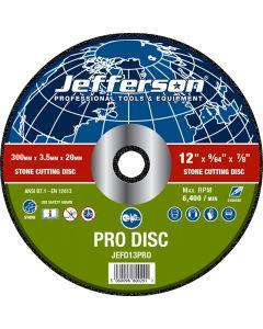 "12"" Stone Cutting Abrasive Disc 20mm Bore"