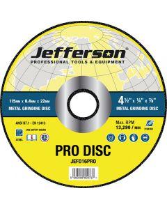 "4.5"" Metal Grinding Abrasive Disc 22mm Bore"