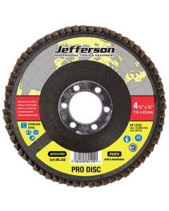 """4.5"""" Abrasive Flap Disc P60 Zircon 22mm Bore"""