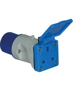 16A To 13A Socket Adaptor