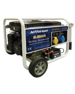 6.9kVA Petrol Generator (Electric Start)