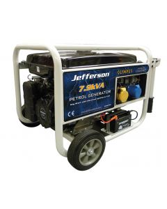 7.9kVA Petrol Generator (Electric Start)
