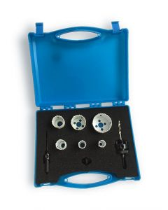 9 Piece Plumbers Holesaw Set