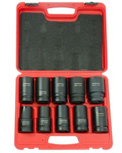 "10 Piece 1"" Deep Impact Socket Set"