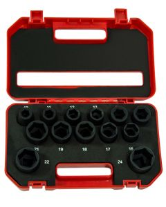 "13 Piece 1/2"" Impact Socket Set"