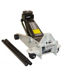 3 Tonne Garage Jack with Compatible Rubber Pad & Spares