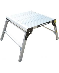 600mm Wide 2 Tread Aluminium Work Platform