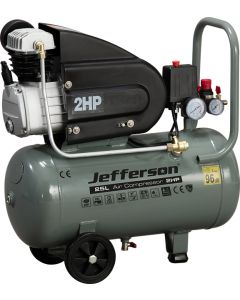 25 Litre 2HP 8 Bar Compressor (110V)