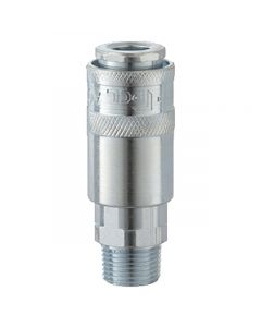 """Rp 1/4"""" Male Airflow Coupling"""