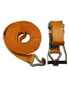 8m x 50mm Orange Ratchet Strap