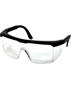 Safety Glasses - Clear Black Nylon Frame