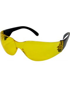 Amber Frameless Safety Glasses
