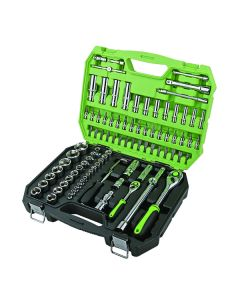 """94 Piece 1/4"""" and 1/2"""" Drive Socket Set"""