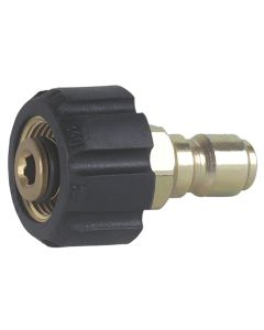 "M22 Swivel +3/8"" Male Plug Adaptor"