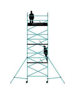 T620-3T 6.2M Double Width Scaffolding Tower