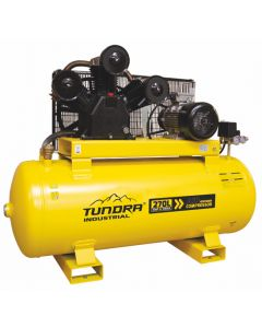 Tundra 270 Litre 10HP 10 Bar Industrial Compressor (3 Phase)