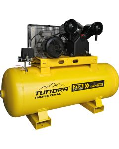 Tundra 270 Litre 5.5HP 10 Bar Industrial Compressor (3 Phase)
