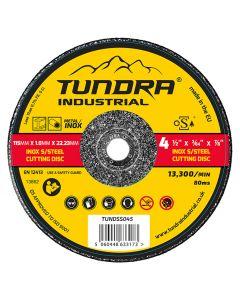 "Tundra Industrial 4.5"" INOX Cutting Disc"