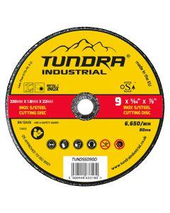 "Tundra Industrial 9"" INOX Cutting Disc"