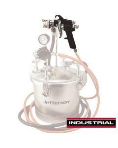 10 Litre Paint Pot - Spray Gun