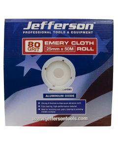Emery Cloth Roll 25mm x 50M x 80G