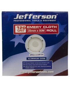 Emery Cloth Roll 25mm x 50M x 120G