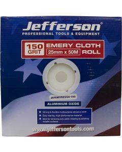 Emery Cloth Roll 25mm x 50M x 150G