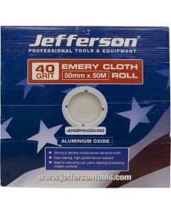Emery Cloth Roll 50mm x 50M x 40G