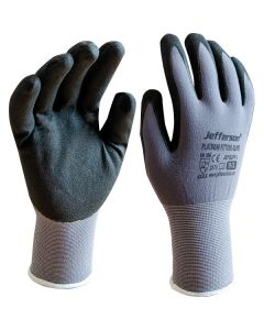 Black Platinum Fitters Gloves