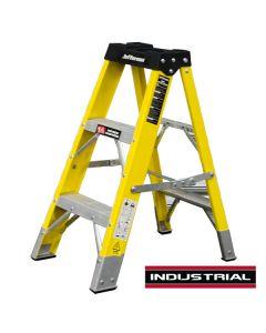 3 Tread Fibreglass Step Ladder