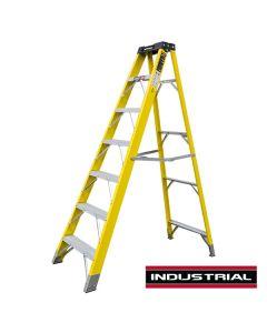 7 Tread Fibreglass Step Ladder