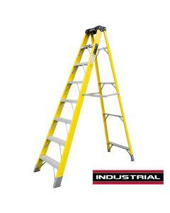 8 Tread Fibreglass Step Ladder