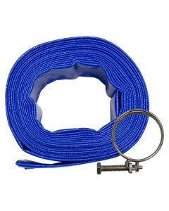 50mm x 10m Layflat Hose with Clamp
