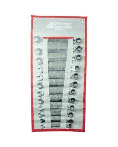 12 Piece Reversible Ratchet Spanner Set