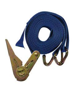 5m x 25mm Blue Ratchet Strap