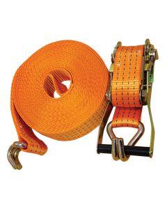 12m x 50mm Orange Ratchet Strap