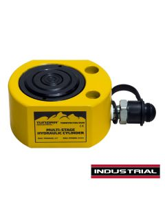 Tundra 54mm 30 Tonne Low Height Multistage Hydraulic Cylinder
