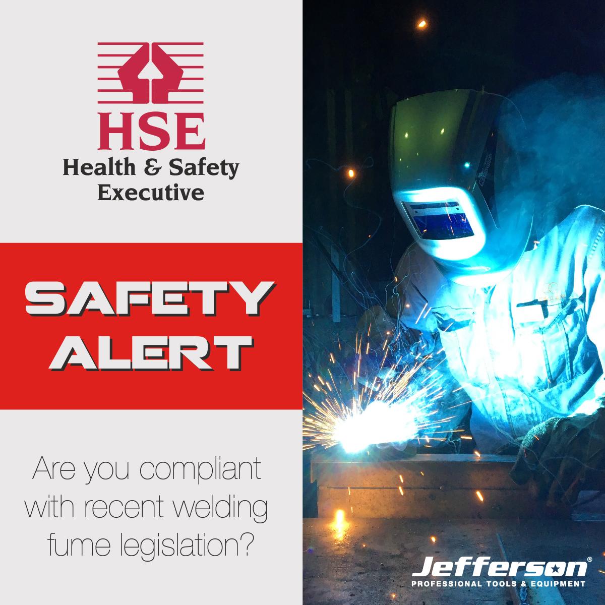 Compliant with welding fume legislation?